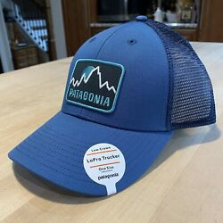 Firstlighters Badge Lopro Trucker Hat - New With Tags - Glass Blue