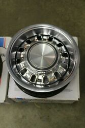 4 - Original 1969 Ford Mustang Mach 1 Chrome Rims W/rings And Caps