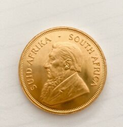 1977 Gold South Africa Proof 1 Oz Krugerrand Coin In Early S. A.