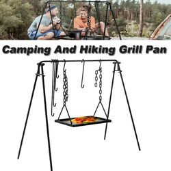 Grill Pan Used With Outdoor Picnic Utensils Grill With Hooks Accessories Bbq