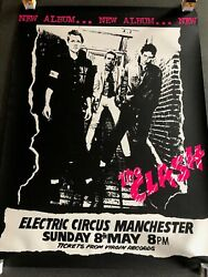 The Clash Very Rare - White Riot Tour Manchester Electric Circus Punk Poster