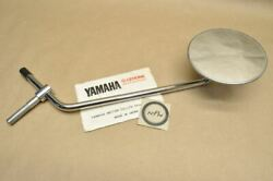 Nos Yamaha Tx650 Xs1 Xs2 Xs650 Left Side Rear View Mirror 256-26290-10