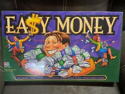 New Vintage Easy Money Board Game Milton Bradley Mb Age 9+- New And Sealed 1996