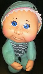 Cute Cabbage Patch Kid 9 Baby Doll In A Shark Costume