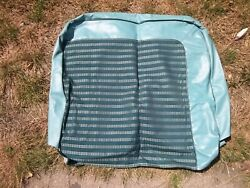 1963 Amc Rambler American Driver's Side Seat Back Cover Nos Green Blue Color