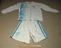 Sydney 2000 Olympic Torch Bearer Relay Shorts And Long Sleeve Shirt Worn