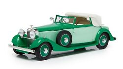 1934 Hispano Suiza J12 Drophead Coupe Half Open In 118 By Esval Models
