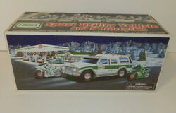 Nib 40 Anniversary 2004 Hess Truck Sport Utility Vehicle And Motorcycles