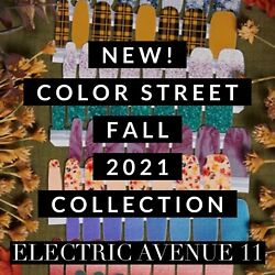 🍁new Fall Collection Color Street Nail Polish Strips Set 2021 Autumn