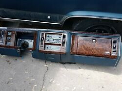 1990 1991 1992 Brougham Dash Complete Housing Frame Oem Used Gm Cadillac Blue