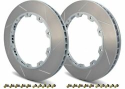 Girodisc Rear 2pcs 350mm Rotor Rings For Porsche Cayman S Boxster S 987 W/ Pccb