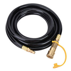 Rv Connector Hose With An On/off Switch For Low Pressure Grills For Burners
