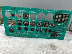 Il-76 Pilot Cockpit Instrumental Panel With Lamp And Device Russian Soviet