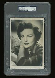 Betty White Signed Autographed Photo 1950's Bandw Photograph Psa Dna Hollywood