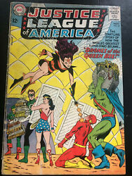 Justice League Of America 23 Gd/vg 3.0
