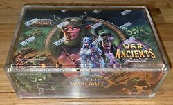 Wow War Of The Ancients Booster Box Factory Sealed With Protective Case. Italian