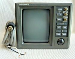 Furuno Rdp- 098 Crt Boat Marine Display Unit For 1721 Radar System W Power Cable