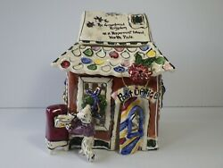 Blue Sky Clay Works Christmas Collection Polar Post Office Heather Goldminc.