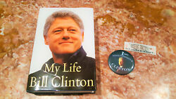 Bill Clinton My Life 2004 1st Edition Signed Book,