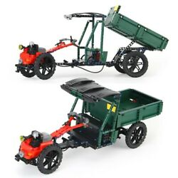 Tractors Trailer Mountain Bicycles Building Block Kids Toys Country Farm Vehicle
