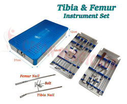Nail Instrument Complete Set Orthopedic Instrument Ss