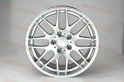 Set Of Four 18 Silver M3 Csl Style Rims Wheels Fits Bmw 3 Series Sport Stag