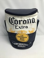 Corona Extra Cooler Blue, White And Yellow - Insulated Bag With Strap Read