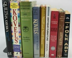 Lot Of 9 Kovels Collector Price Guide Books Antiques Collectibles And Other Book