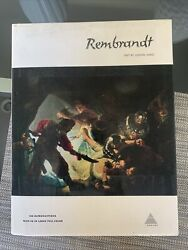 Book Rembrandt By Ludwig Munz Abrams 108 Reproductions 48 Large Full Color Art