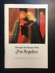 Catholic Booklet - Through The Rosary With Fra Angelico