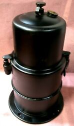 1913-14 And Early 1915 Carbide Acetylene Generator Tank Off A Model T Ford Nos