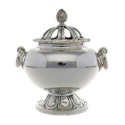 Interior Silver Pure Silver Censer Sterling Silver Figurine From Japan Used