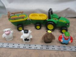 John Deere Animal Sounds Hayride Preschool Matching And Musical Tractor Toy Parts