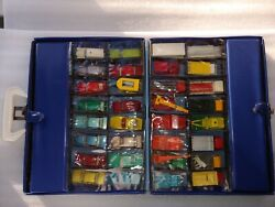 Lot Of 48 Vintage Cars And Trucks With Case 1960and039s 70and039s And 80and039s. Lot Vc44