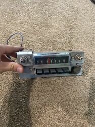 Original 1966 Ford Mustang K Code Shelby 289 Hipo Gt Am Radio - Working