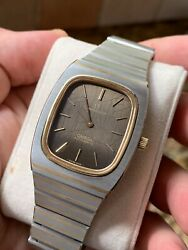 Vintage Omega Constellation Automatic Mens Watch Swiss Made Gold/steel In Box