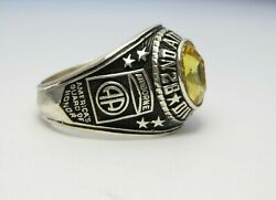 Z149 , Silver 925 , 82nd Airborne Ring , Americas Guard , Army Ring, Us Size 12