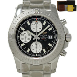 Breitling New Colt A1338811/bd83 Stainless Steel Black Box/paper/1yrwty Br47