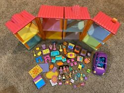 Dora The Explorer Magical Welcome House W/ Action Figures And House Accessories