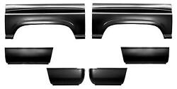 Wheel Arch And Lower Front And Rear Bed Quarter Panel 8' Bed For 94-02 Dodge Ram