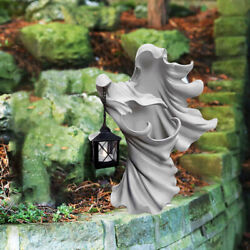 Ghost Garden Realistic Outdoor Spooky Statue Lamp Lights Decor Resin Crafts