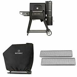 Gravity Series 560 Digital Charcoal Grill + Smoker With 2 Warming Rack And Cover