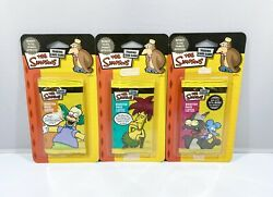 The Simpsons Trading Card Game Booster Packs In Blister Packaging Lot Of 3 New
