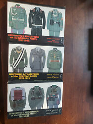 Uniforms And Traditions Of The German Army 1 2 And 3 Signed Angolia And Schlicht