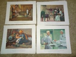 A History Of Medicine In Pictures Parke Davis Complete 45 Prints By Robert Thom