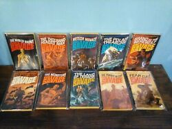 Doc Savage Books - 89 Books - 82 Of 96 Singles + 7 Doubles All Bagged Individual