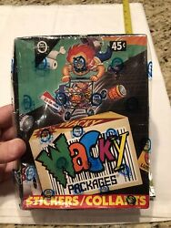 1992 O-pee-chee Wacky Packages Stickers Box Factory Sealed New Free Ship In Usa
