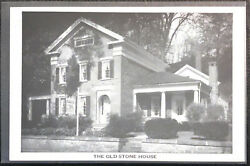 The Old Stone House, Cushman Colonial Creations, Vermont Postcard