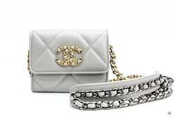New Ap1787b04852 19 Flap Coin Purse With Two Tones Gold And Gunmeta Light