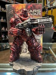 Gears Of War Boomer Studios Statue Rage Variant Red 96/100 Sdcc 2009
